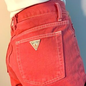 Vintage  80s 90s  Guess Marciano highwasted shorts